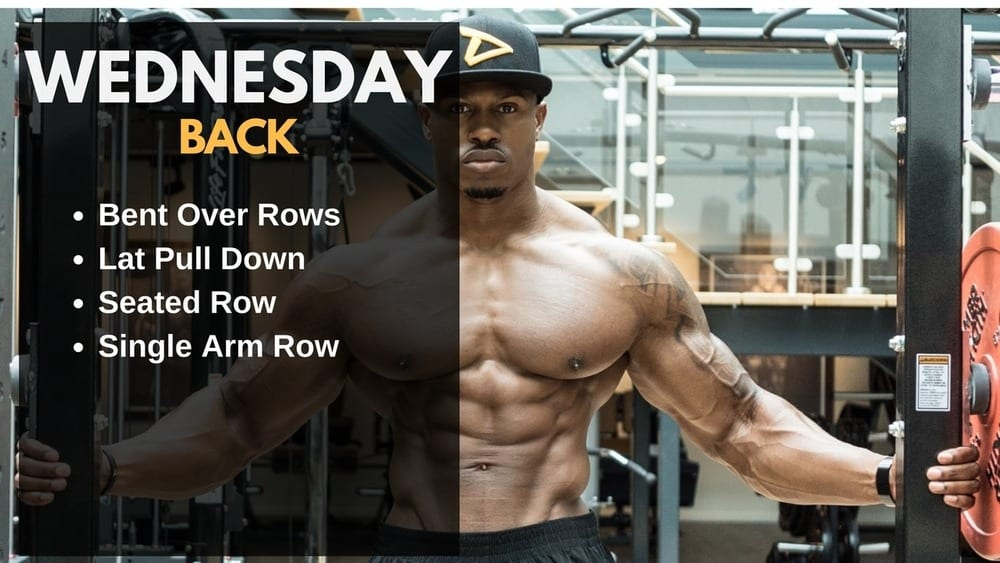 Simeon Panda Workout Routine - Back