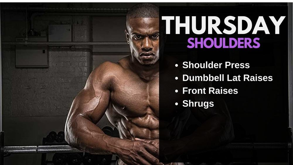 Simeon Panda Workout Routine - Shoulders