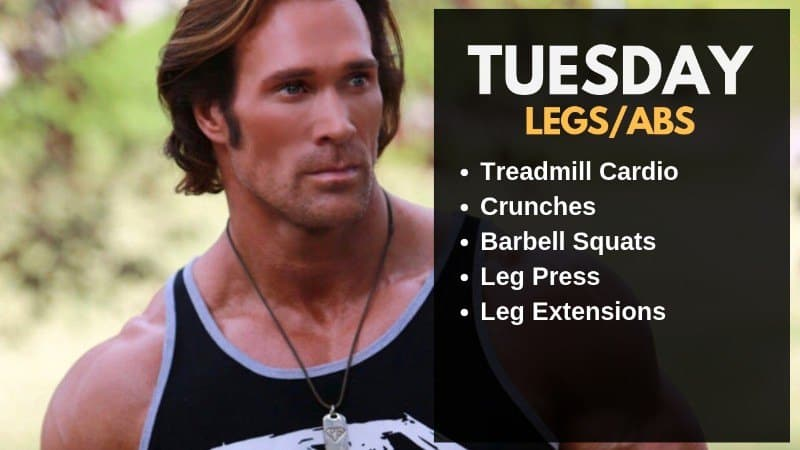 Mike O' Hearn Workout Routine - Tuesday
