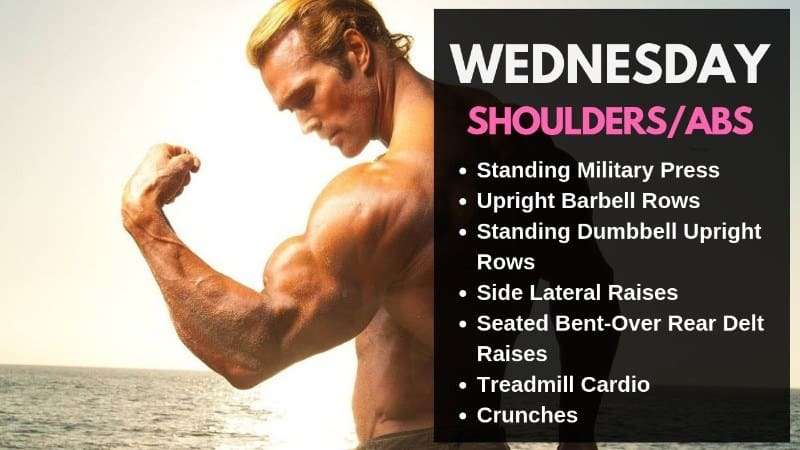 Mike O' Hearn Workout Routine - Wednesday