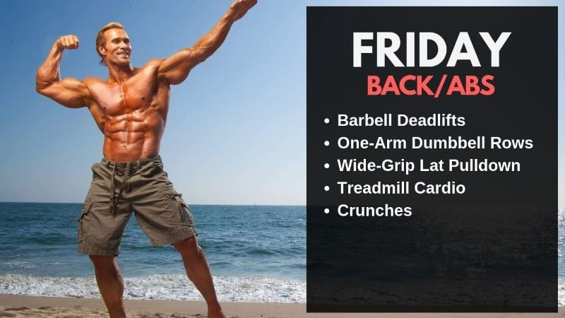 Mike O' Hearn Workout Routine - Friday
