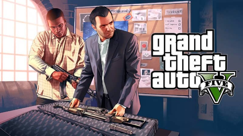 Most Popular Video Games - Grand Theft Auto V