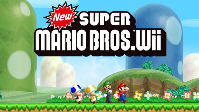 Most Popular Video Games - New Super Mario Bros Wii