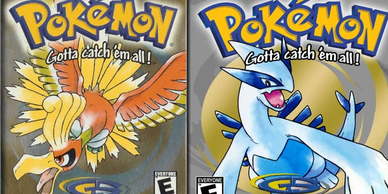 Most Popular Video Games - Pokemon Gold, Silver, and Crystal