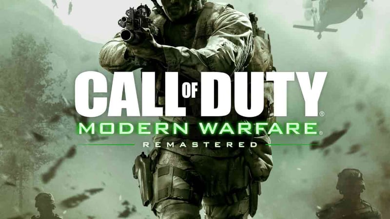 Best First Person Shooter PS4 Games - Call of Duty Modern Warfare Remastered