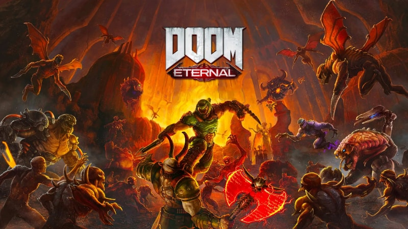 Best First Person Shooter PS4 Games - Doom Eternal