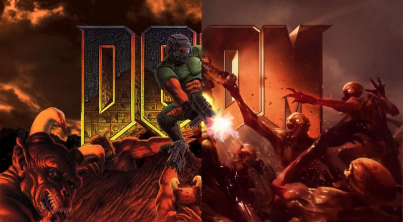 Best First Person Shooter PS4 Games - Doom