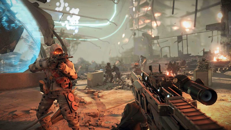 Best First Person Shooter PS4 Games - Killzone Shadow Fall