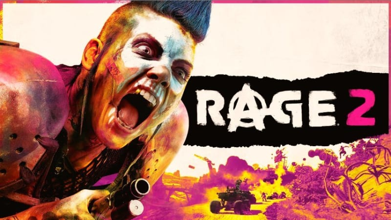 Best First Person Shooter PS4 Games - Rage 2
