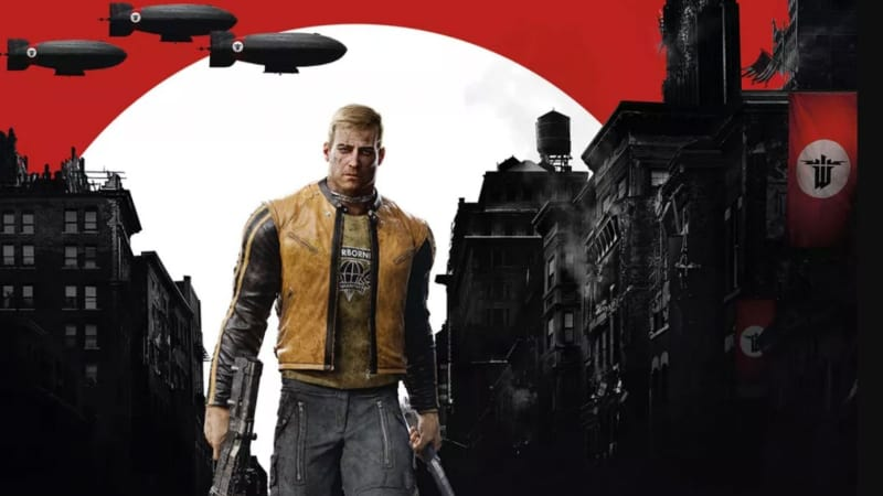 Best First Person Shooter PS4 Games - Wolfenstein 2