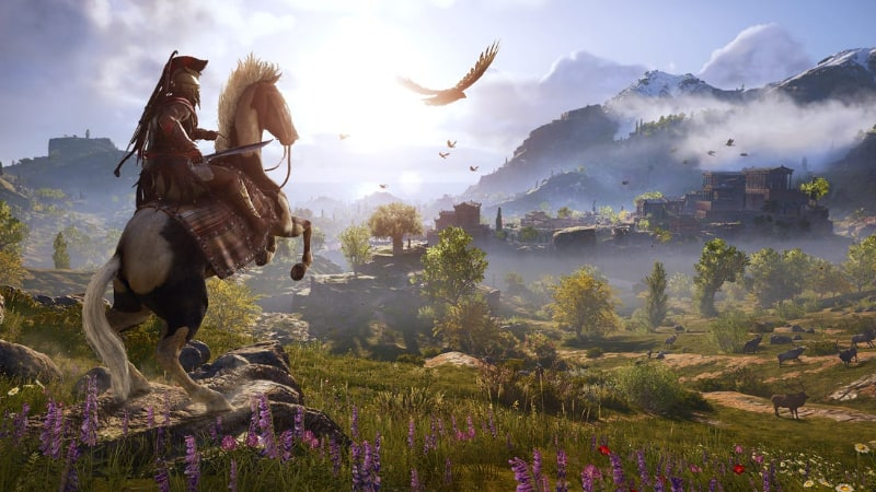 Best Open World PS4 Games - Assassins Creed Odyssey