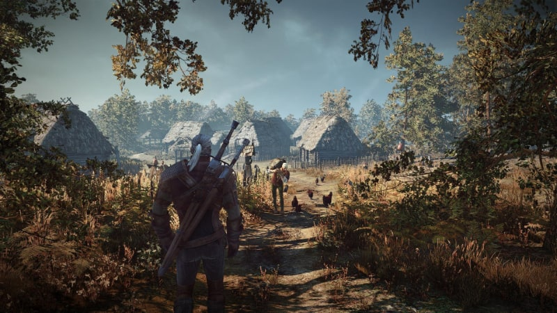 Best Open World PS4 Games - The Witcher 3