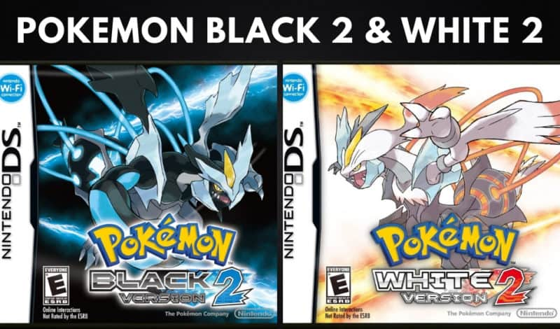Best Pokemon Games - Pokemon Black 2 & White 2
