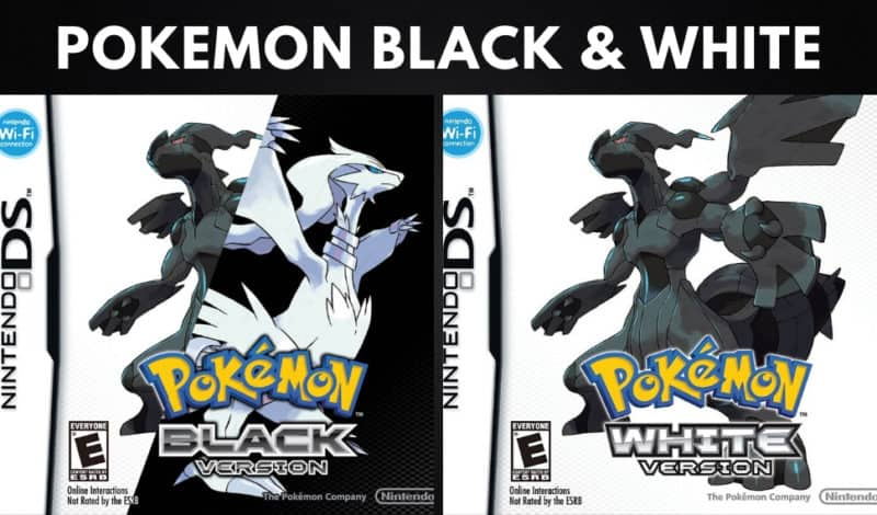 Best Pokemon Games - Pokemon Black & White