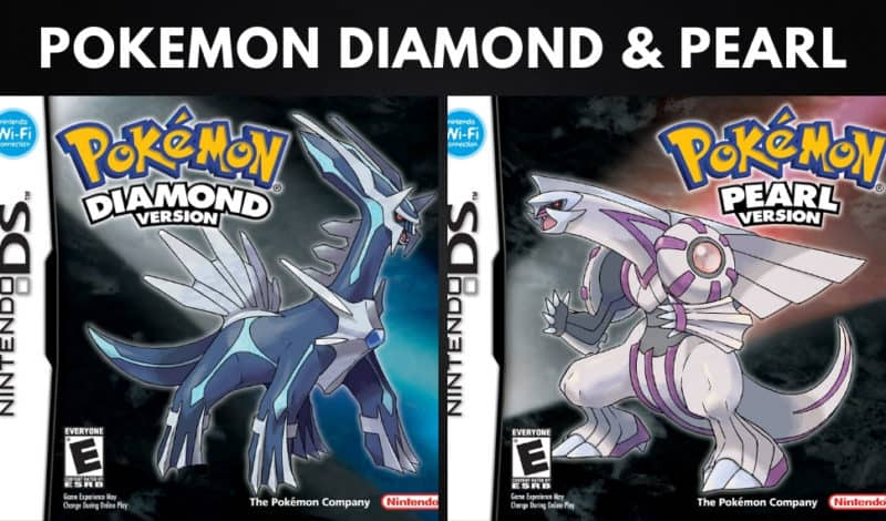 Best Pokemon Games - Pokemon Diamond & Pearl
