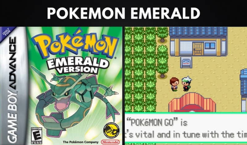 Best Pokemon Games - Pokemon Emerald
