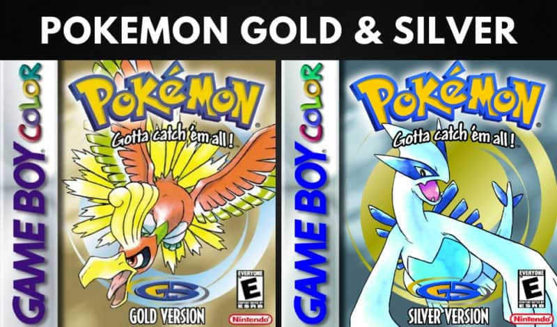 Best Pokemon Games - Pokemon Gold & Silver