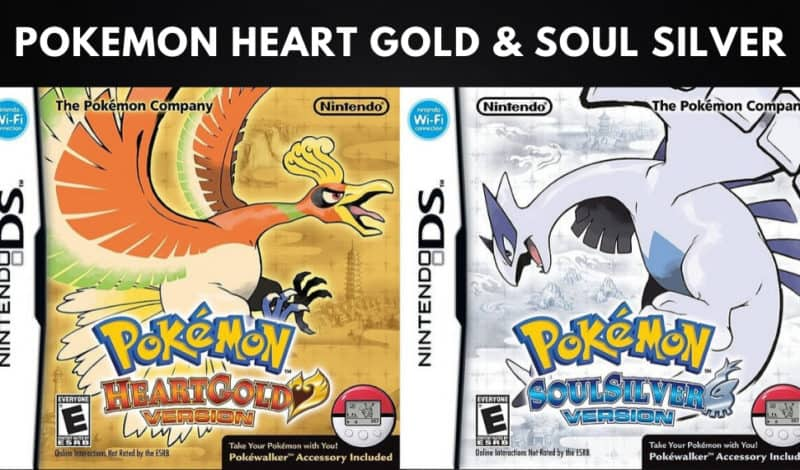 Best Pokemon Games - Pokemon Heart Gold & Soul Silver