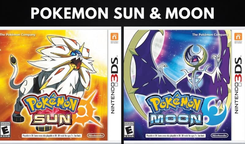 Best Pokemon Games - Pokemon Sun & Moon