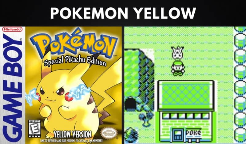 Best Pokemon Games - Pokemon Yellow