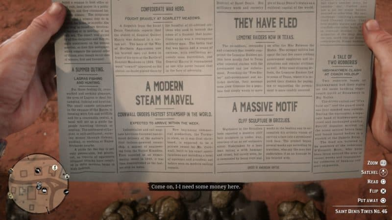 Best Red Dead Redemption 2 Cheats - Newspaper Cheats