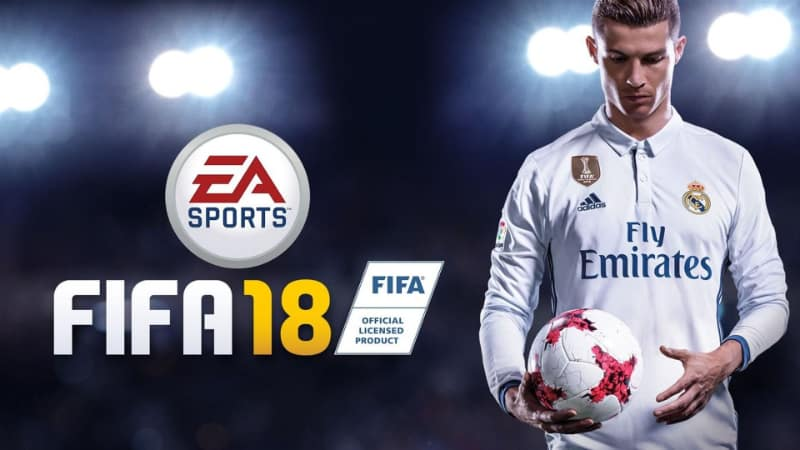 Best Selling PS4 Games - Fifa 18