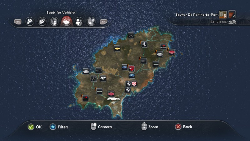 Biggest Open World Maps - Test Drive Unlimited 2