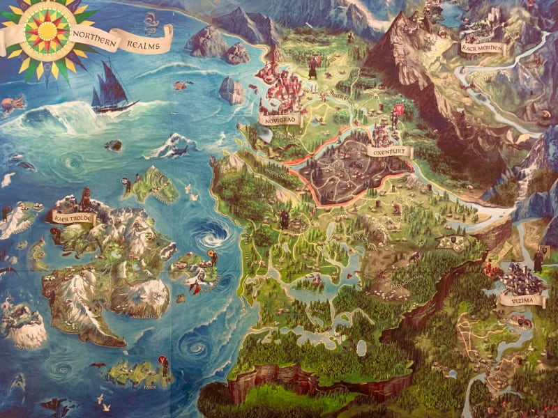 Biggest Open World Maps - The Witcher 3