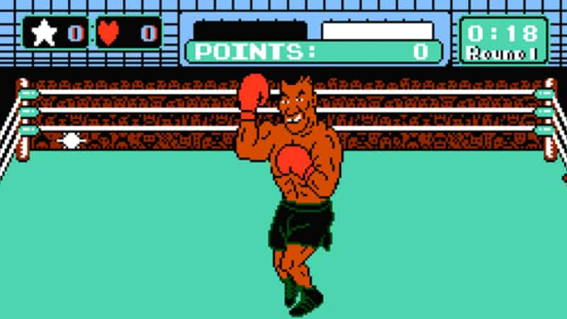 Hardest Video Game Levels - Mike Tyson Fight - Punch Out