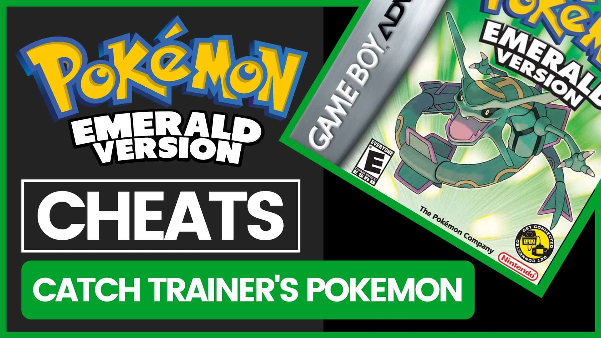 Pokemon Emerald Cheats - Catch Trainer's Pokemon