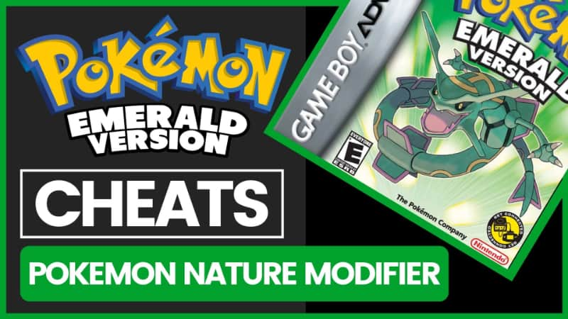 Pokemon Emerald Cheats - Pokemon Nature Modifier