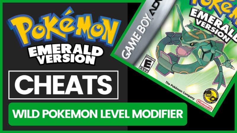 Pokemon Emerald Cheats - Wild Pokemon Level Modifier