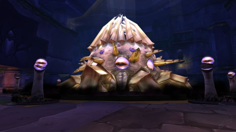 Toughest Video Game Bosses - C'Thun - World Of Warcraft