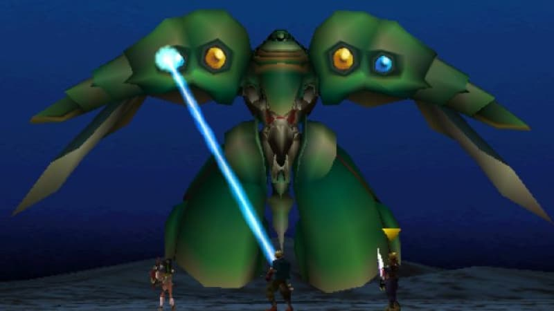 Toughest Video Game Bosses - Emerald Weapon - Final Fantasy VII