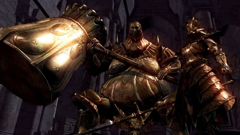 Toughest Video Game Bosses - Ornstein And Smough - Dark Souls