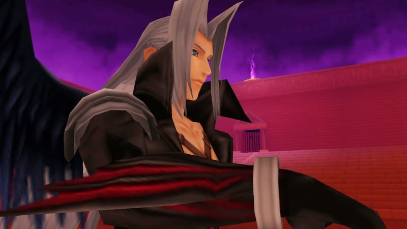 Toughest Video Game Bosses - Sephiroth - Kingdom Hearts