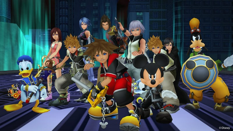 Best RPG PS4 Games - Kingdom Hearts 2