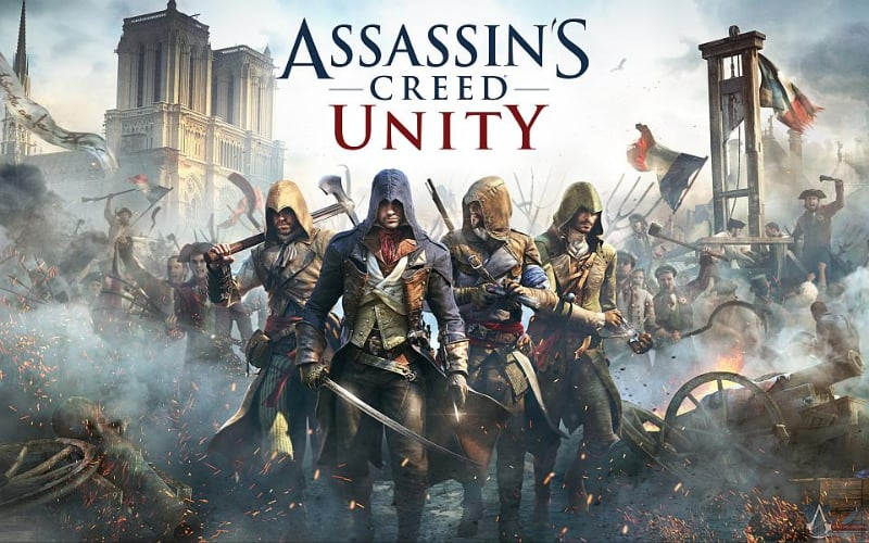 Best Assassins Creed Games - Assassins Creed Unity