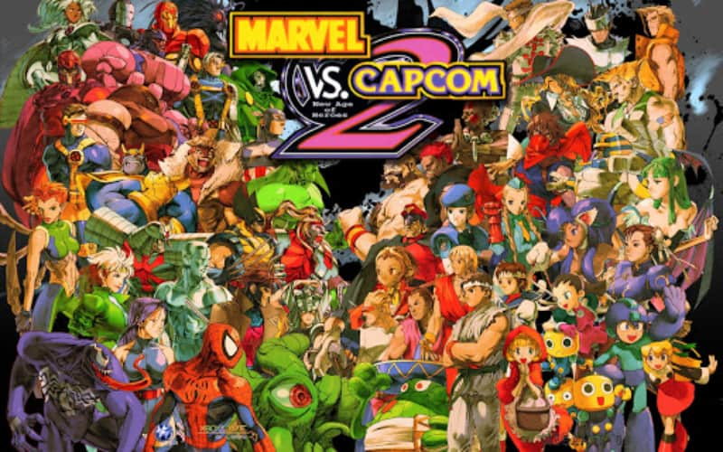 Best Fighting Games - Marvel vs. Capcom 2- New Age of Heroes