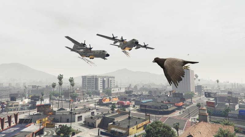 Best GTA 5 Mods - Angry Planes