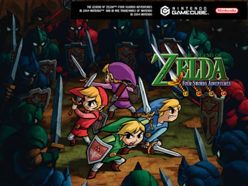 Best Zelda Games - The Legend of Zelda - Four Swords