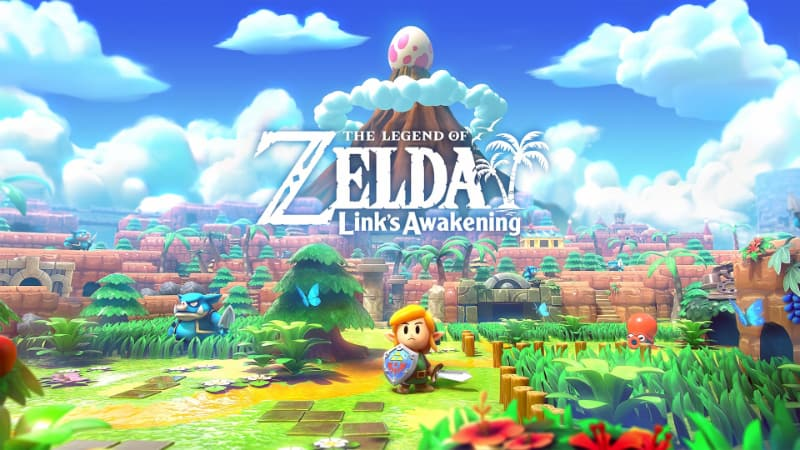 Best Zelda Games - The Legend of Zelda - Link's Awakening
