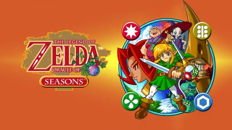 Best Zelda Games - The Legend of Zelda - Oracle of Seasons