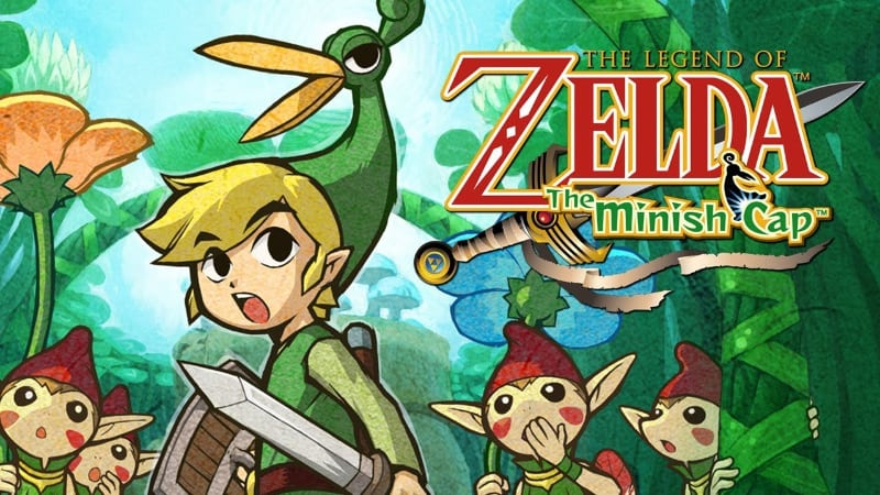 Best Zelda Games - The Legend of Zelda - The Minish Cap