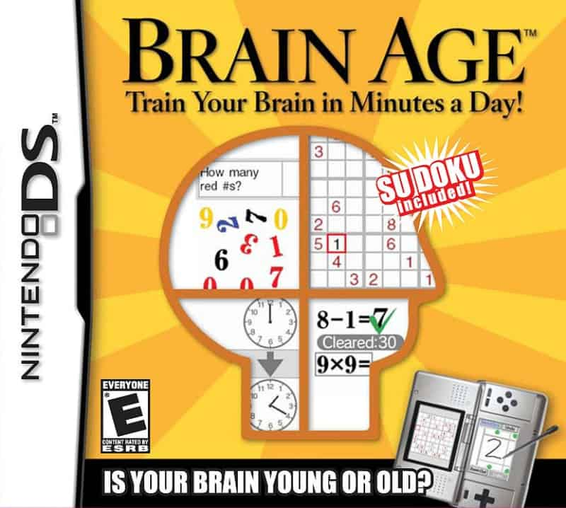 Most Popular Nintendo Games - Brain Age