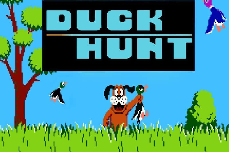 Most Popular Nintendo Games - Duck Hunt