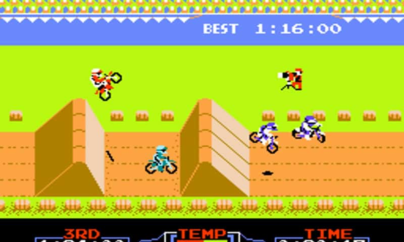 Most Popular Nintendo Games - Excitebike