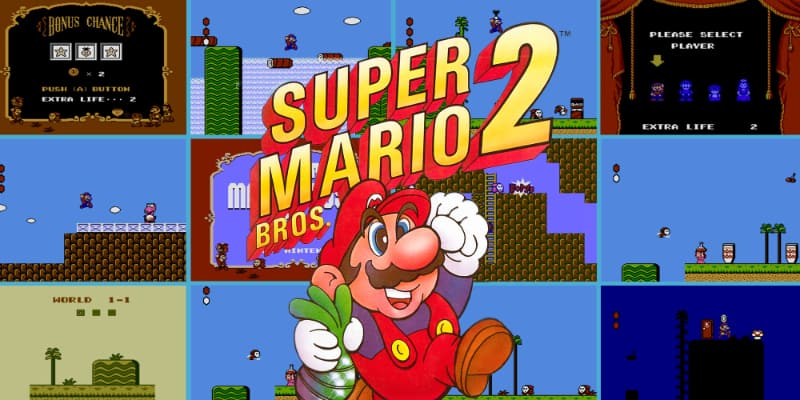 Most Popular Nintendo Games - Super Mario Bros 2