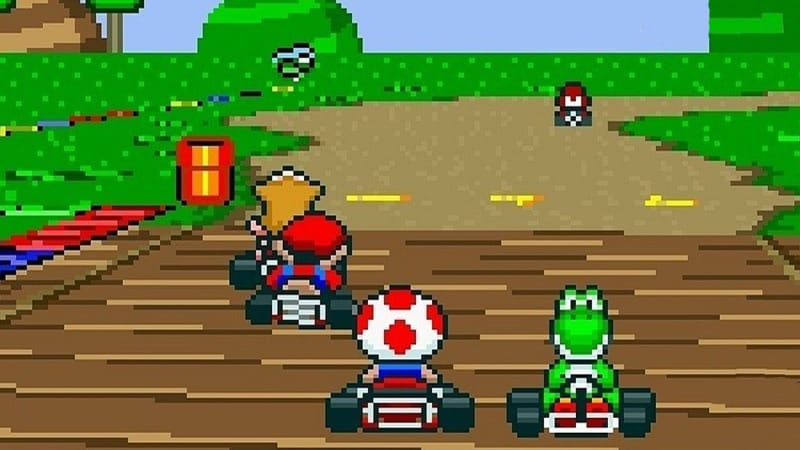 Most Popular Nintendo Games - Super Mario Kart