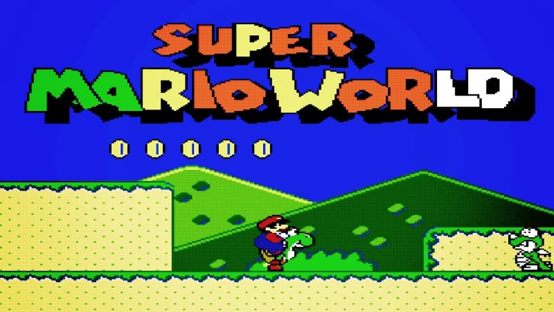 Most Popular Nintendo Games - Super Mario World